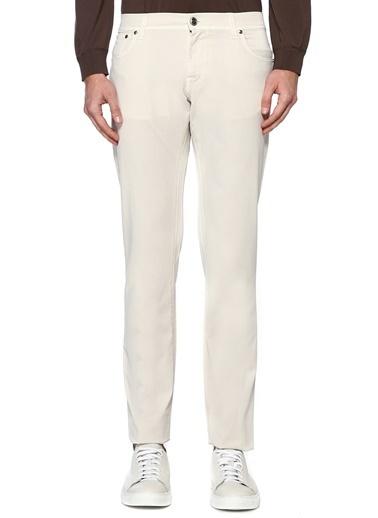 Corneliani Id Pantolon Beyaz